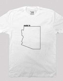AZ-state-shirt-white