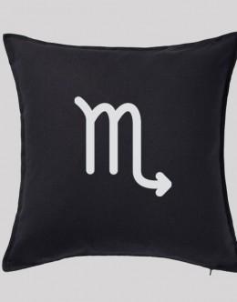 scorpio-zodiac-pillow-cover-black