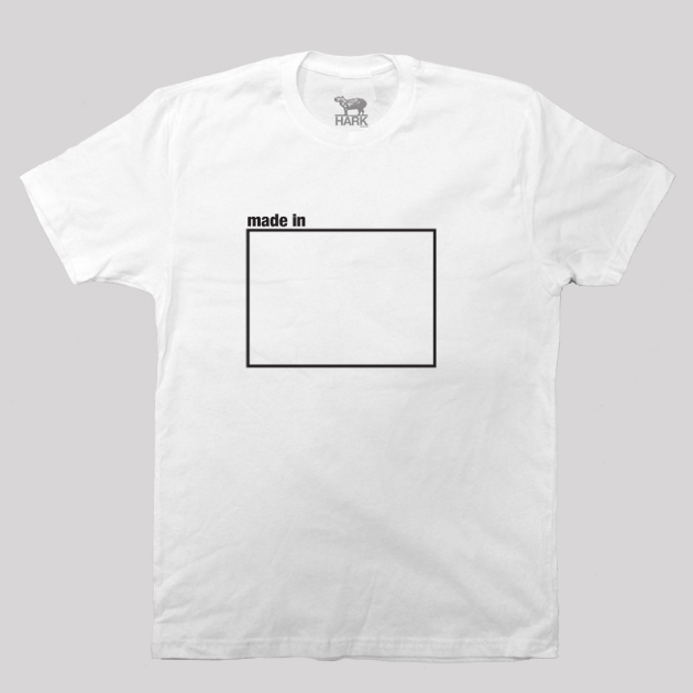 Colorado CO Made State Map Profile T-Shirt