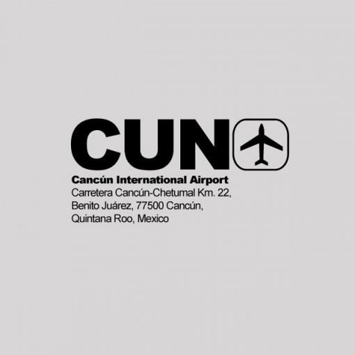 CUN - Cancun Airport Code T-shirt