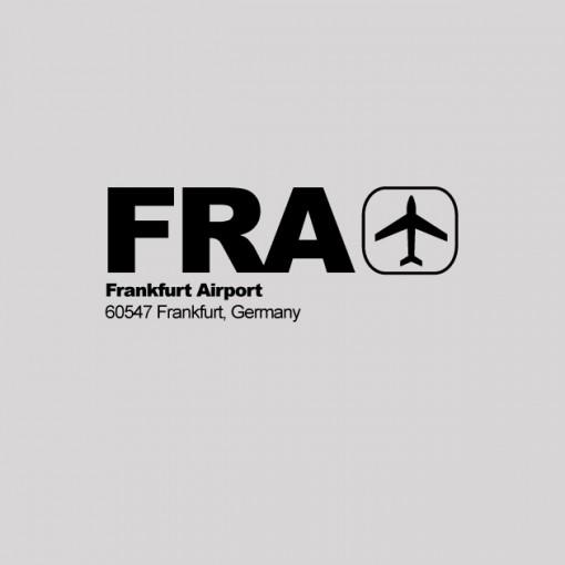 FRA - Frankfurt Airport Code T-shirt