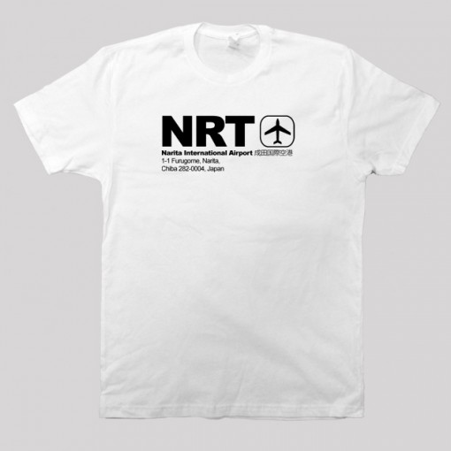 NRT - Narita Airport Code T-shirt