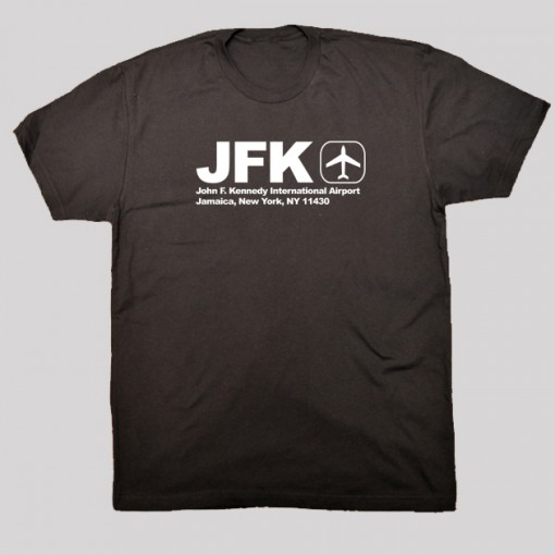 JFK - John F. Kennedy Airport Code T-shirt