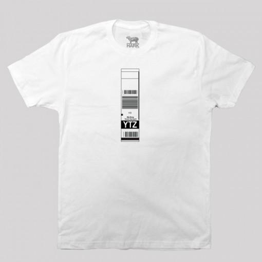 YTZ - Billy Bishop Toronto City Airport Code Baggage Tag T-shirt